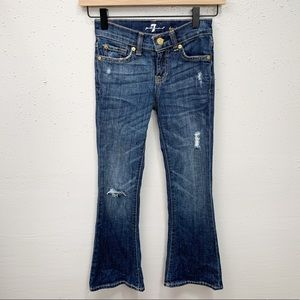 7 For All Mankind Kaylie Flare Boot Cut Jeans 7